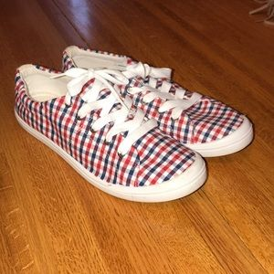 Bass Plaid Kimmy Sneakers Shoes